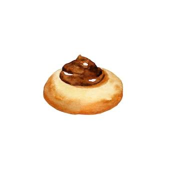 Biscotto rotondo al cioccolato