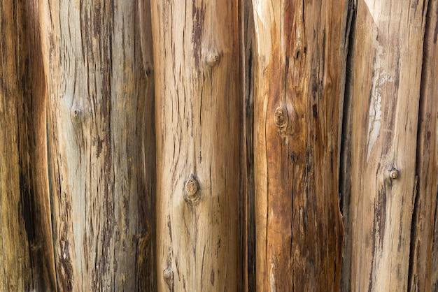 Fila di legname per materiale di sfondo e texture