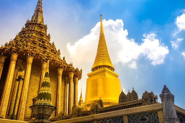 Royal grand king palace a bangkok, in thailandia