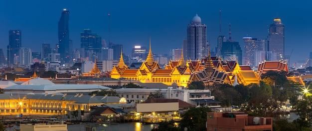 Royal grand palace a bangkok, in asia thailandia