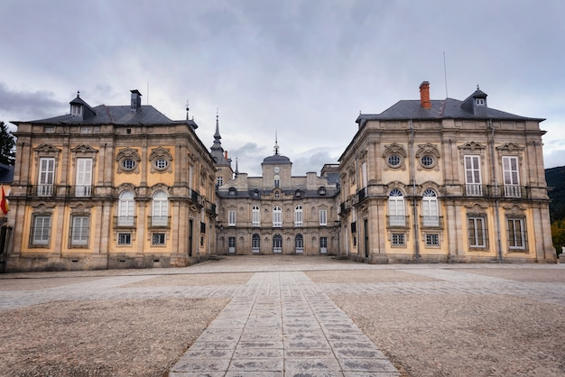 Palazzo reale la granja de san ildefonso, segovia, spagna.
