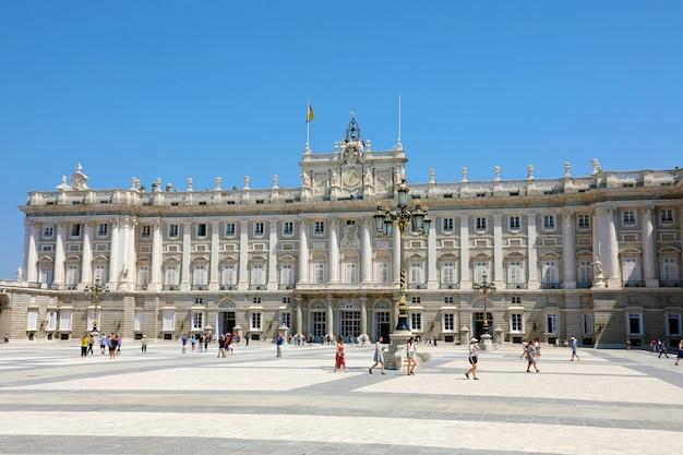 Palazzo reale di madrid, residenza ufficiale della famiglia reale spagnola
