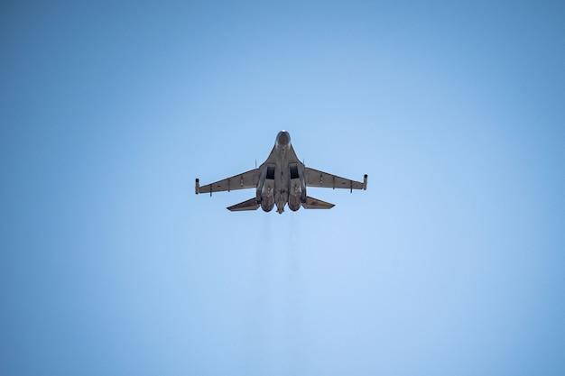 Russia khabarovsk may sus multifunzionale combattente di generazione parade in onore della vittoria parata aerea militare in onore del giorno della vittoria