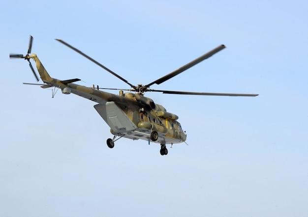 Elicottero mi-8 dell'esercito russo