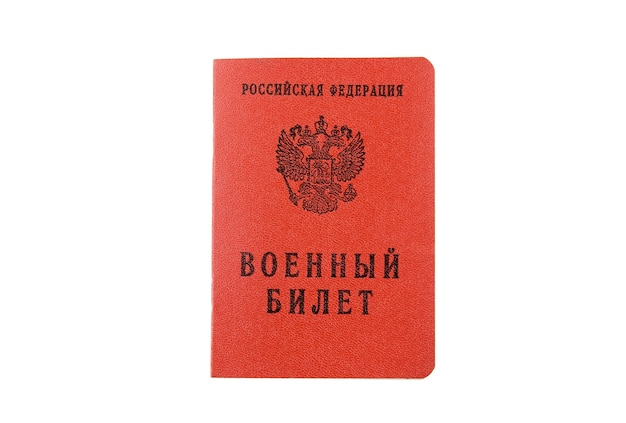 Il russo militaru id tenere in mano. isolato
