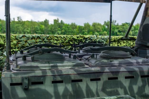 Cucina da campo sovietica russa dell'attrezzatura militare della seconda guerra mondiale della cucina mobile dell'esercito rosso