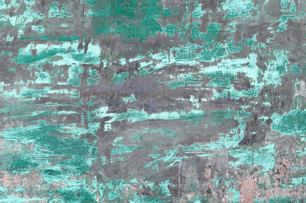 Di piastra metallica arrugginito con vecchia struttura di superficie dipinta