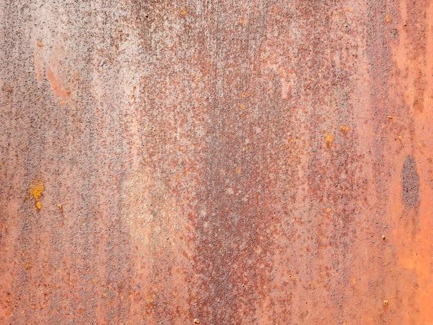 Sfondo grezzo di metallo arrugginito.