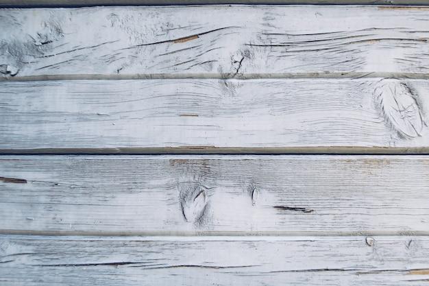 Pannelli di legno rustici stagionati rustici di lerciume blu e bianco. tavole di legno invecchiato texture stock photography Foto Premium