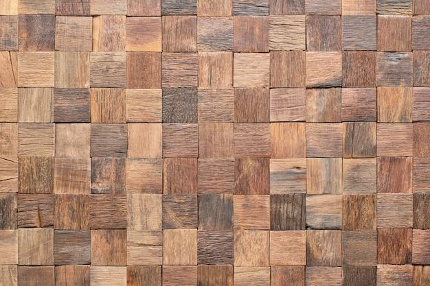 Pannelli di parete di struttura in legno rustico, mosaico della plancia