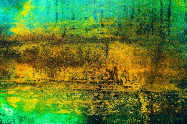 Struttura della superficie del metallo arrugginito, sfondo di arte astratta incrinata