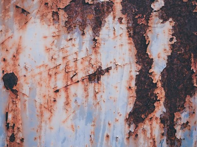 Sfondo texture metallo arrugginito