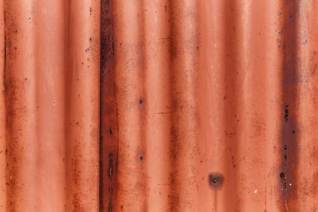 Vecchio arrugginito foglio di ferro ondulato tessile astratto sfondo