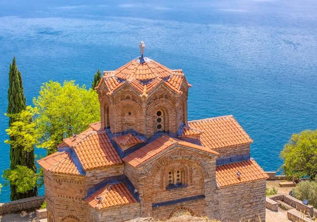 Chiesa ortodossa di san giovanni kaneo a ohrid nord macedonia