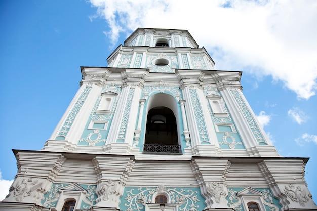 Torre toller della cattedrale di santa sofia. kiev, ucraina.