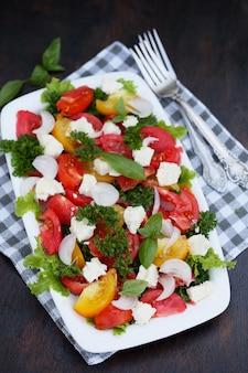 Insalata con pomodori