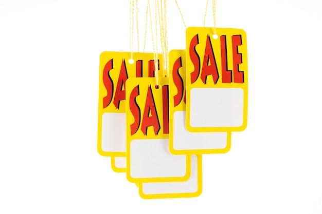Etichetta di sconto promozionale di vendita