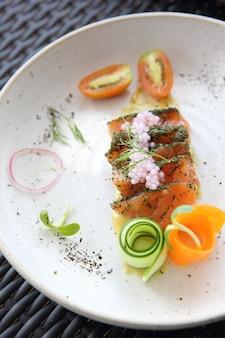Salsa di salmone