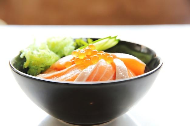 Riso sushi al salmone don