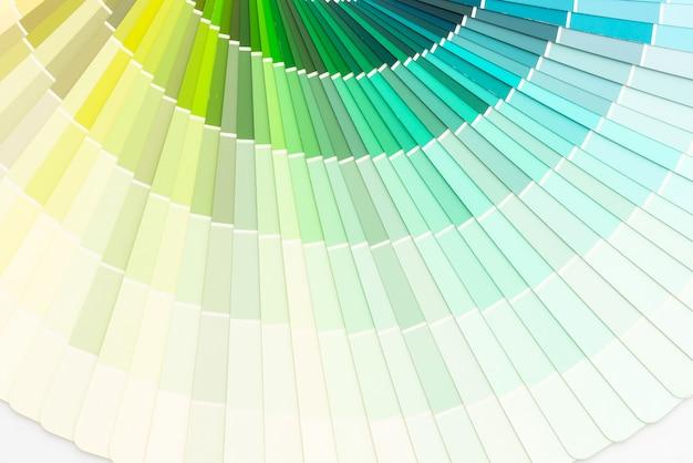 Campionario colori catalogo pantone