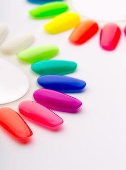 Campioni di glitter per unghie