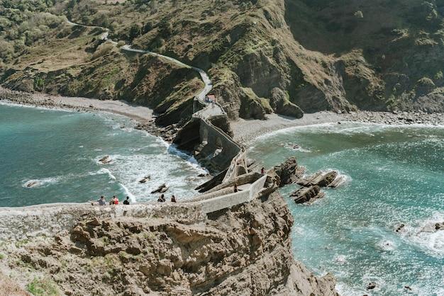 San juan de gaztelugatxe della cima