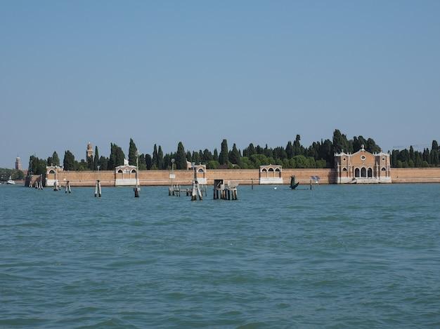 Isola del cimitero di san michele a venezia