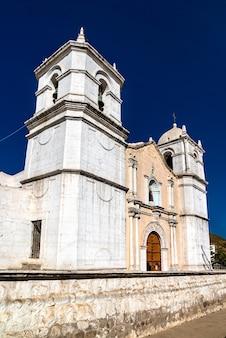 Chiesa di san pedro de alcantara a cabanaconde, perù