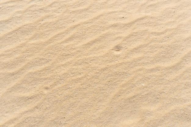 Trama di spiaggia di sabbia bella come sfondo