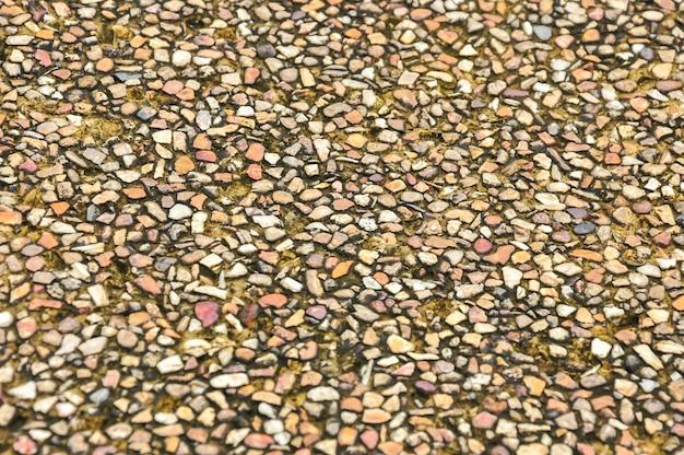 Fondo di struttura del pavimento di pietra della sabbia