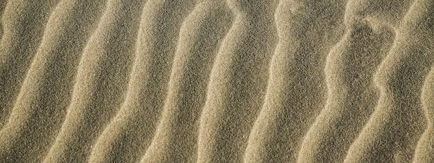 Dettaglio trama sabbia, immagine banner con spazio copia