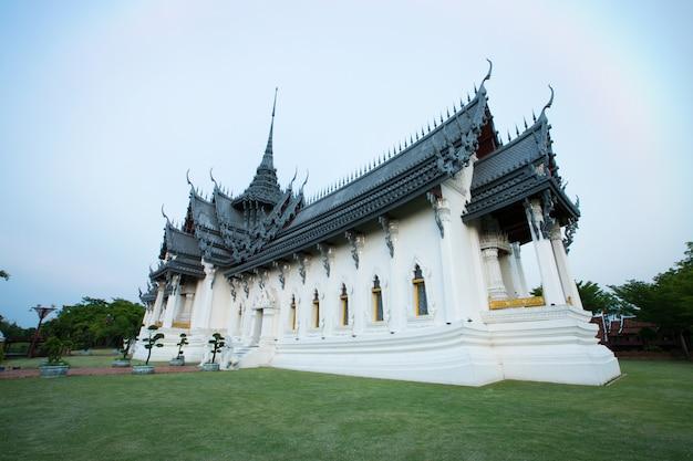 Palazzo di sanphet prasat, città antica, bangkok, tailandia