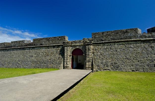 Fortezza di santa catarina a cabedelo vicino a joao pessoa paraiba brasile l'11 maggio 2005
