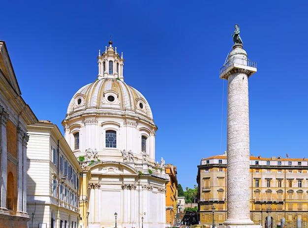Chiesa del santissimo nome di maria roma. roma. italia.