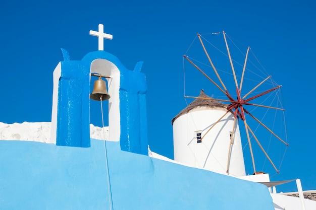 Santorini, grecia - villaggio di oia, vista tipica