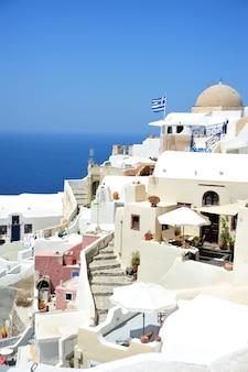 Isola di santorini in grecia