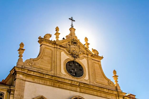 Chiesa di sao domingos, lisbona, portogallo