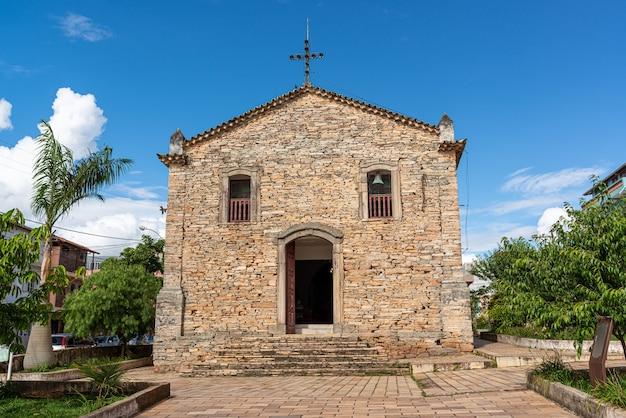 Sao tome das letras minas gerais brasile chiesa di pietra nossa senhora do rosario