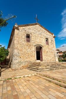Sao tome das letras minas gerais brasile chiesa di pietra nossa senhora do rosario Foto Premium