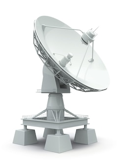 Antenna parabolica. comunione.