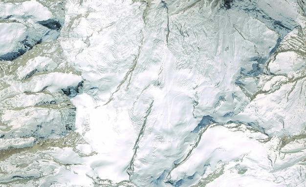 Vista dall'alto satellitare texture sopra la svizzera