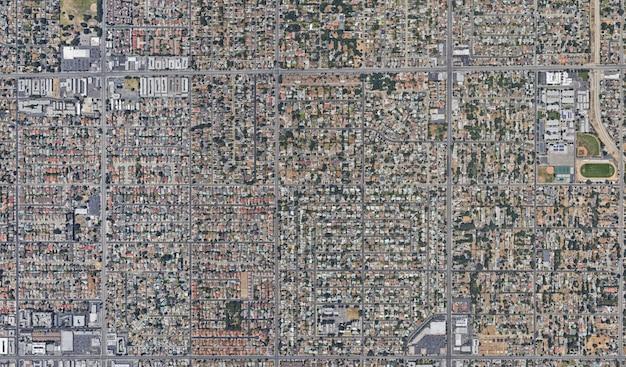 Trama vista satellitare
