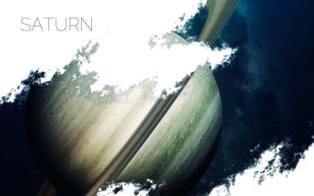 Saturno nello spazio