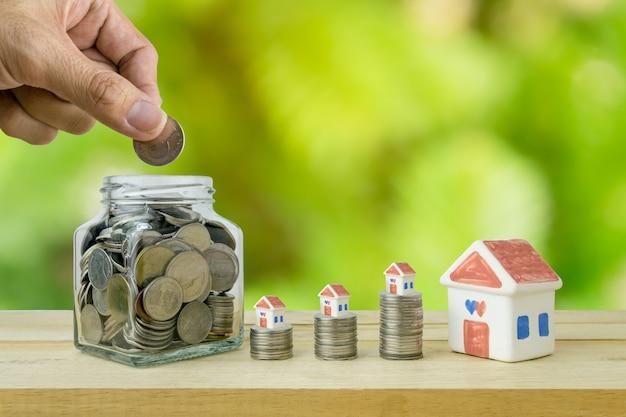 Piani di risparmio per l'alloggio, concetto finanziario