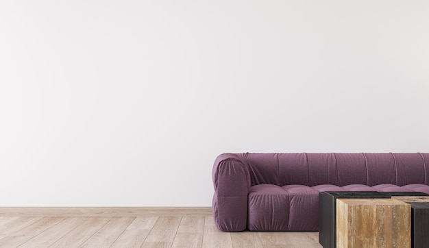 Design scandinavo del soggiorno, interni luminosi