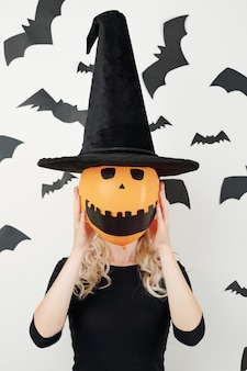Costume di halloween spaventoso
