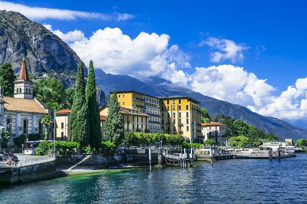 Paesaggi panoramici del meraviglioso lago lago di como