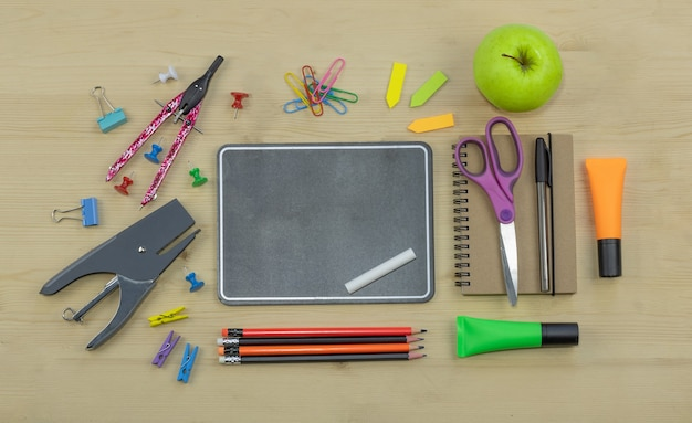 Ritorno a scuola di materiale scolastico