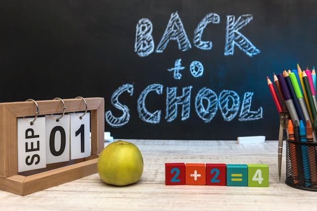 Tema della scuola. torna al concetto di scuola. inizio dell'istruzione.