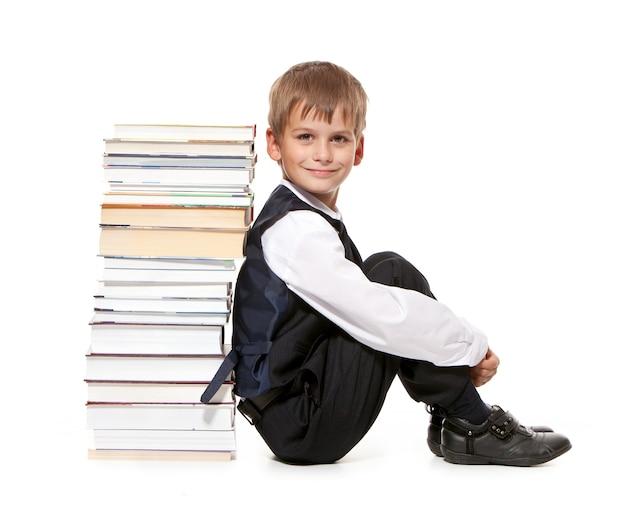 Scolaro e libri